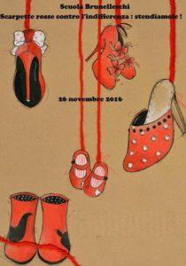 scarpette rosse contro l indifferenza stendiamole istituto comprensivo n 1 scarpette rosse contro l indifferenza