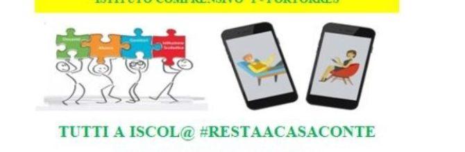 Tutti a Iscol@ # RESTAACASACONTE